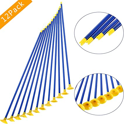 12Pcs Children Kids Sucker Archery Bow Arrows Youth Outdoor Sports Game Toy