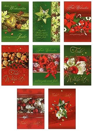 Weihnachtskarten Verlag.Taunus Grußkarten Verlag 50 Grußkarten Weihnachten 8 Motive 22