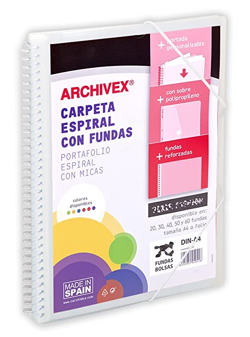 Amazon.com : carchivo 53033002 - Folder with 30 Sleeves ...