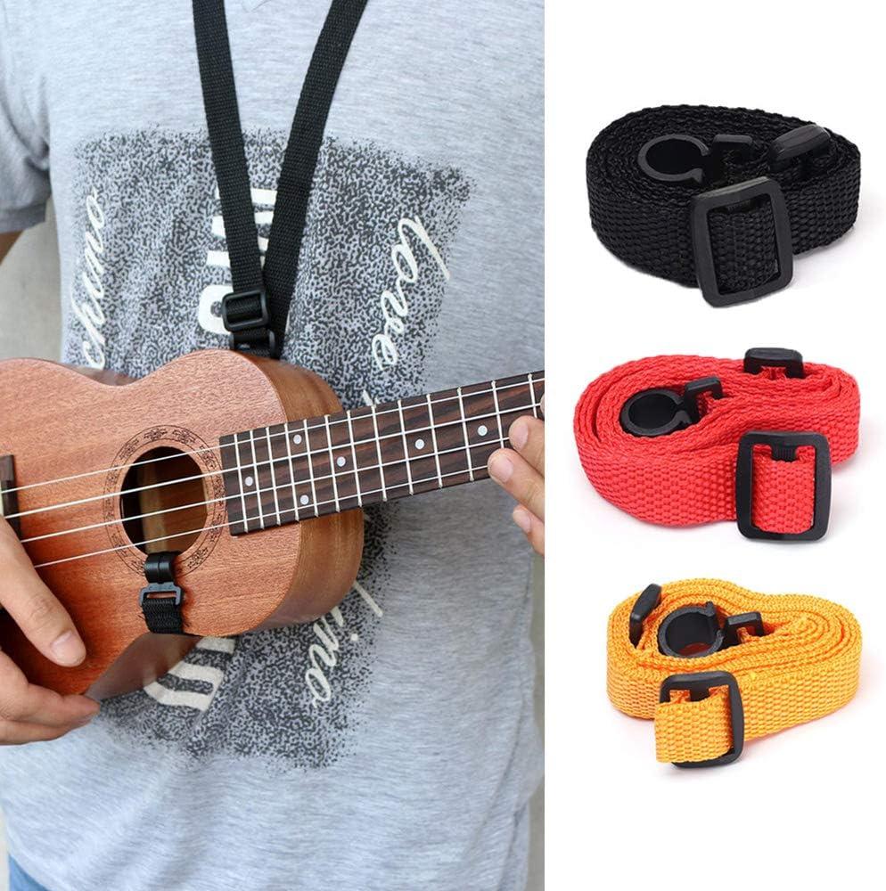 Funda para ukelele de Zealux/® con correas ajustables para los hombros de 10/mm estilo bohemio con relleno de esponja
