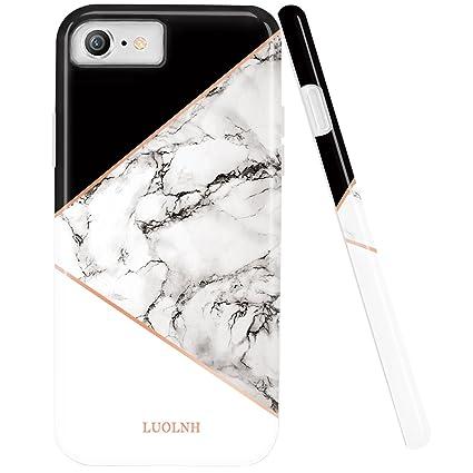 Amazon.com: iPhone 7 casos, LUOLNH diseño de IMD patrón de ...