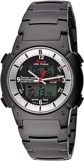 Gardé Radio Business 6-16DM Reloj radiocontrolado para hombres Carcasa de Titanio
