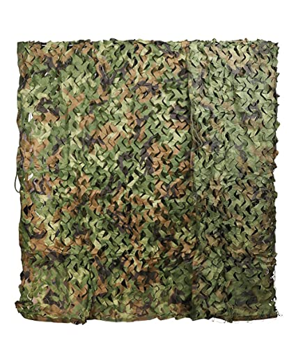 4b32c4bb556 Annay Camo Netting Woodland Camouflage Net for Hunting Decoration Sunshade  5ft x 13ft