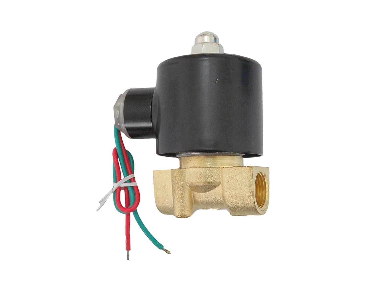 """24V DC 3//8/"""" Electric Solenoid Valve Water Air N//C"""