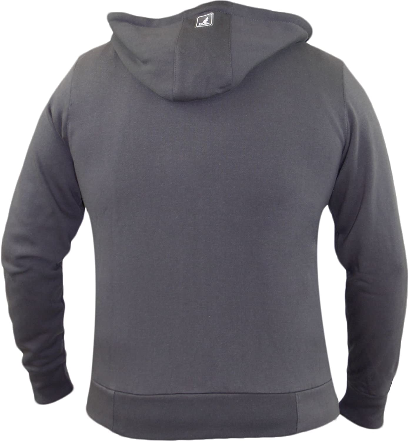 S Mens Boys Kangol Designer Fleece Sweatshirt Zipper Top Size XL