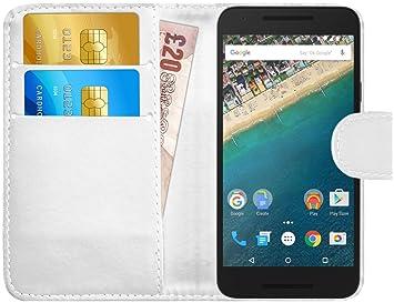 G-Shield Funda para LG Google Nexus 5X, Carcasa de Cuero con ...