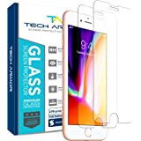 Tech Armor Ballistic Glass Screen Protector for Apple iPhone 6 Plus/6s Plus, iPhone 7 Plus, iPhone 8 Plus [2-Pack]