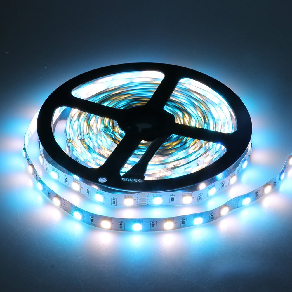 Ledenet Super Bright Rgbw Led Flexible Strip Lights 12v Chaser The Leds In This Circuit Produce A Chasing Pattern 5m 300 5050 Smd Fairy Tape Lighting Kit Rgb White Home Improvement