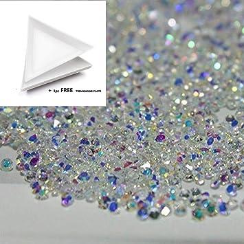Amazon mopretty 1440pcs 12mm mini diamond shining diy mopretty 1440pcs 12mm mini diamond shining diy rhinestones iridescent crystals need glue phone nail prinsesfo Choice Image
