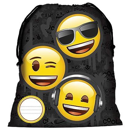 Bolso de cordón para niños   Diseño de fantasía Emoji para ...