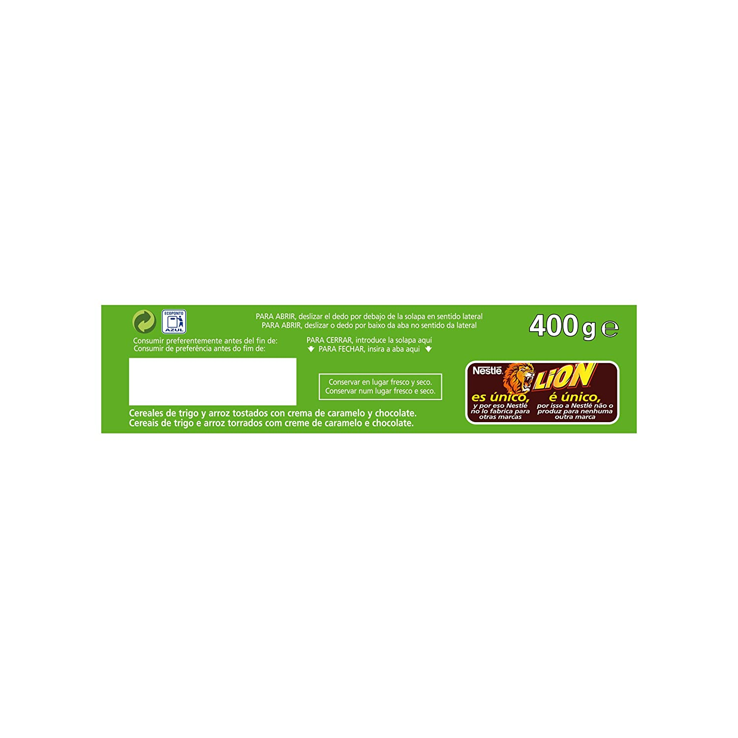 Amazon.com: Lion - Cereals with Caramel and Chocolate Cream 2Pack (Valentinas Market):