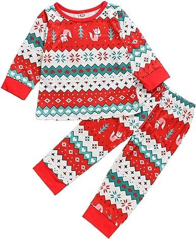 Pants Toddler Fashion Outfits Set Tronet Christmas Baby Boys Girls Xmas Santa Letter Romper
