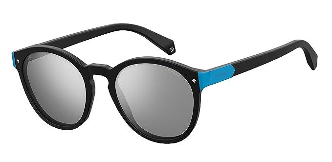 Polaroid Damen Sonnenbrille » PLD 6034/S«, schwarz, 003/EX - schwarz/ silber