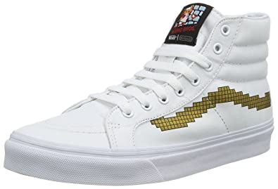 d829143376 Vans SK8 Hi Slim Nintendo Console Canvas Trainers Shoes-6  Amazon.co ...