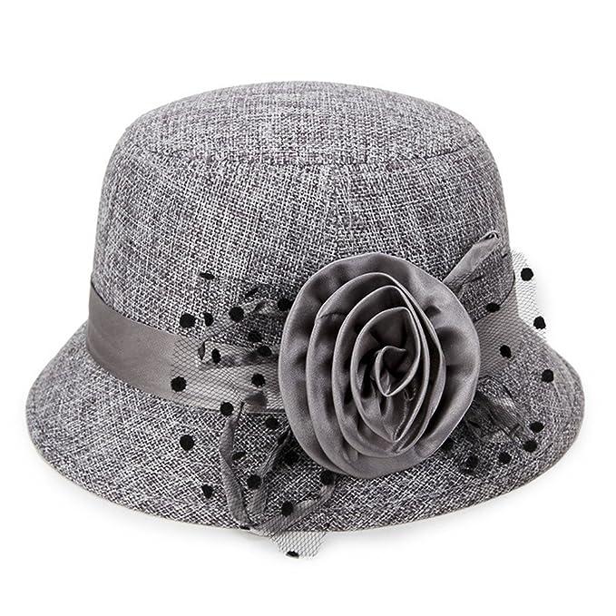 Eyzr Sombrero De Verano Ropa De Dama Sombrilla Hat Oriente Y Antigua Gran Tiesto Hat,