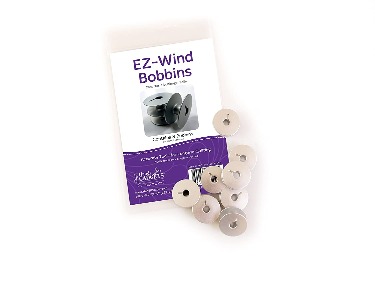 Handi Quilter EZ-Wind Bobbins (Pack of 8)
