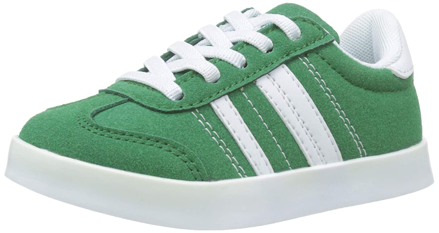 ZIPPY Boys Zapatillas De Color para Niño Low-Top Sneakers Green (Alhambra 17/5430 Tc 722) 3.5 UK