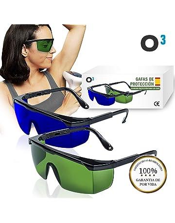 0821847722 O³ Gafas Laser Depilación - 2 unidades Gafas de protección para depilación  HPL/IPL/