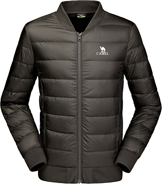 New Men/'s Water Resistant Windproof Lightweight Puffer Puffy Jacket Quilted Coat