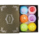 Amazon Price History for:GEROWA Bath Bombs Gift Set-6 All Natural Essential Oil Lush Fizzies. Organic & Natural Ingredients & Shea Butter Sooth Dry Skin. Holiday Gift for Ladies and Girls. Add to Bath Bubbles-Bath Basket