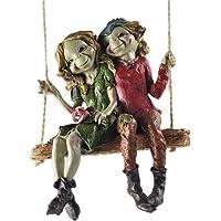 Fiesta Studios Pixie Pareja Colgante Swing, Escultura mágico