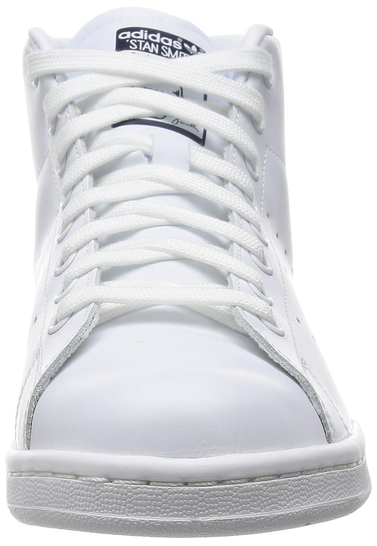 brand new 6d042 37dc9 adidas STAN SMITH MID S75028 Unisex - adulto Scarpe sportive, Bianco 49 EU  grandi  Amazon.it  Scarpe e borse