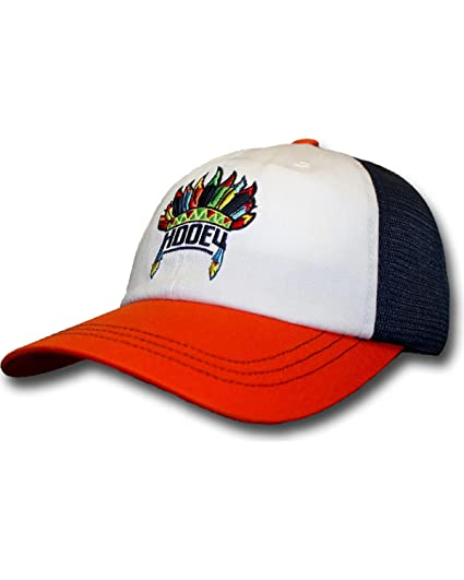 new product f2a44 1d401 ... spain hooey womens orange and navy nana trucker hat orange one size  2aae3 d12df