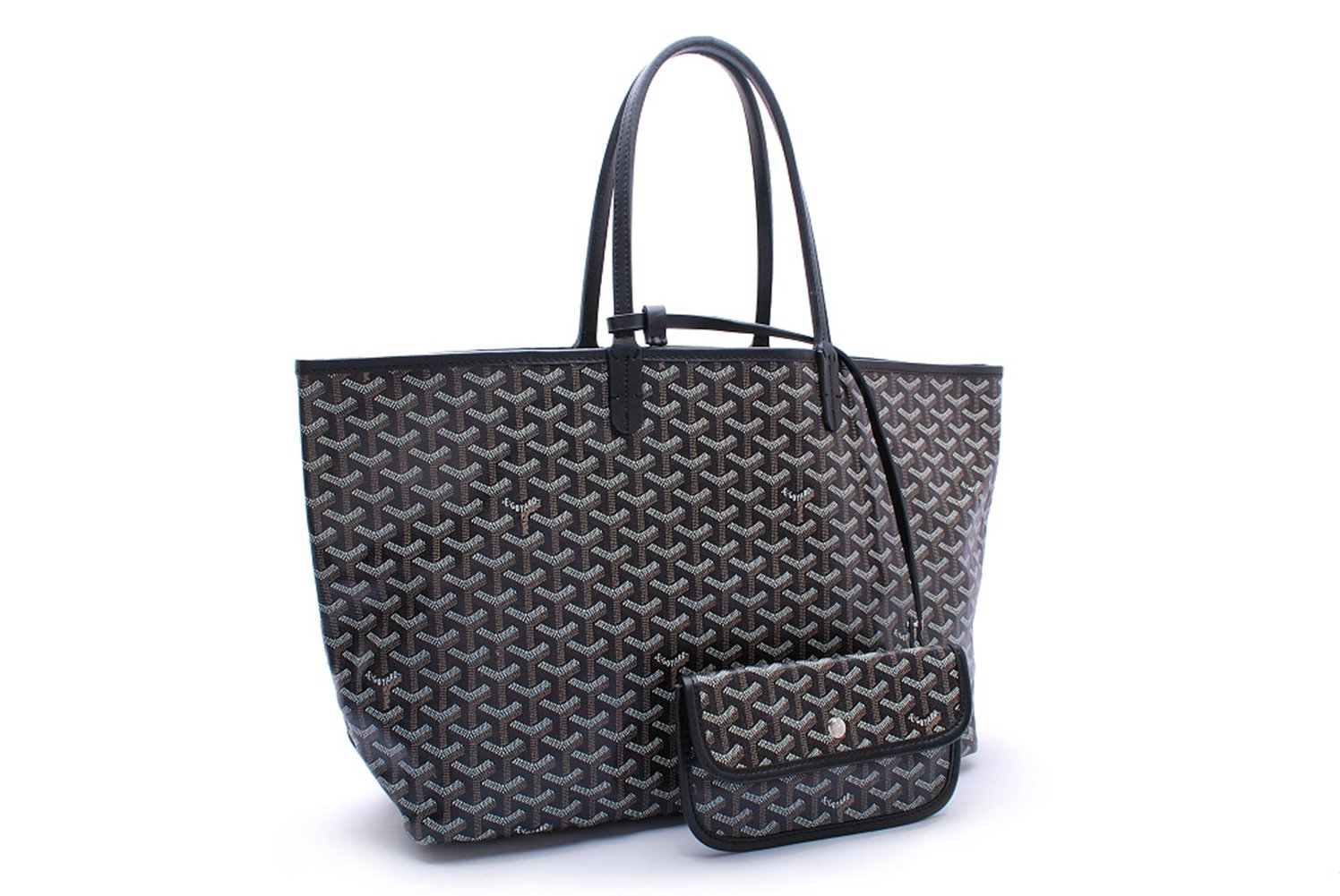 Bagcollector Fashion Shopping Shoulder Tote Bag Set(Black)