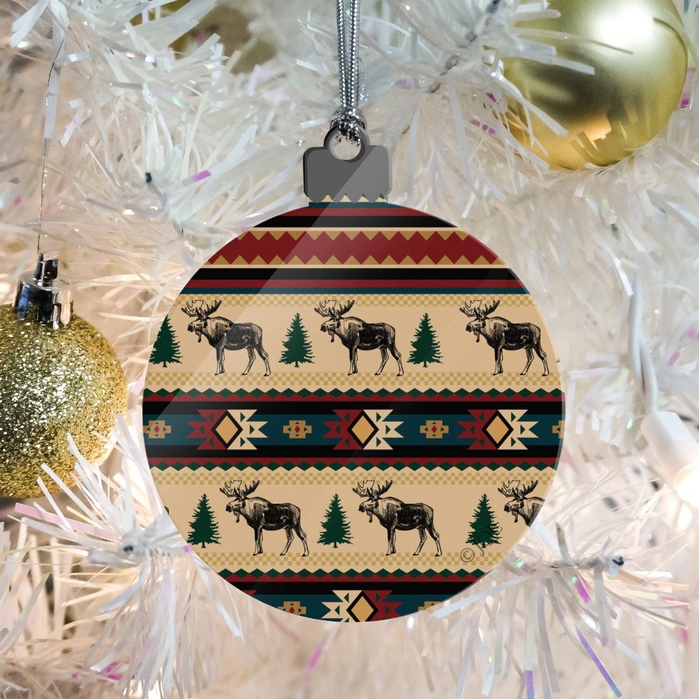 Native American Christmas Ornaments.Amazon Com Graphics And More Native American Moose