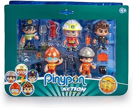 Amazon.es: Pinypon Action- Set de 5 Figuras Series 2 con ...