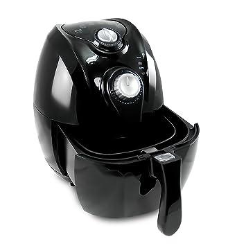 Freidora de aire caliente Heiss Aire freidora 2,7 litros 1350 W (sin grasa
