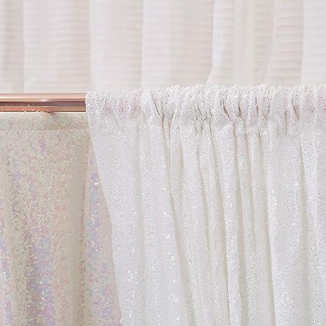 Eternal Beauty Pailletten Hintergrund Für Hochzeit Fotohintergrund 5ftx7ft Weiß Küche Haushalt