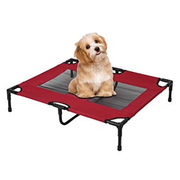 Amazon.com: Portable Removable Pet Bed Large Indoor Outdoor Dog Cats ...
