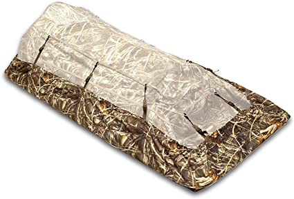 Amazon Com Final Approach Water Moccasin Waterproof Blind Protector In Max Camo Sports Outdoors