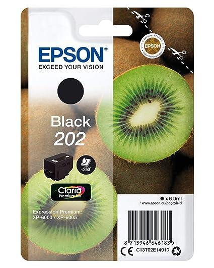 Epson Kiwi Singlepack Black 202 Claria Premium Ink ...