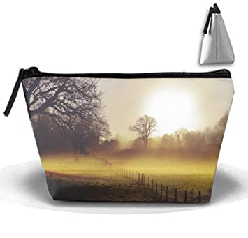 df6186c6af32 Amazon.com : Multi-functional Earth Landscape Makeup Bag/Travel ...