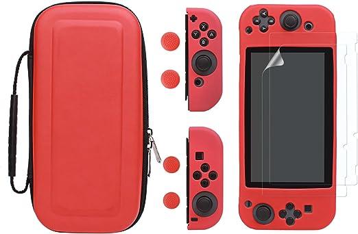 LIANGUK set de accesorio funda para Nintendo switch, protectora ...
