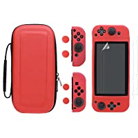 LIANGUK set de accesorio funda para Nintendo switch