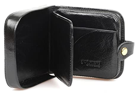5661be389 Mens Gents Top Quality LEATHER Square Coin Tray by Golunski Purse ...