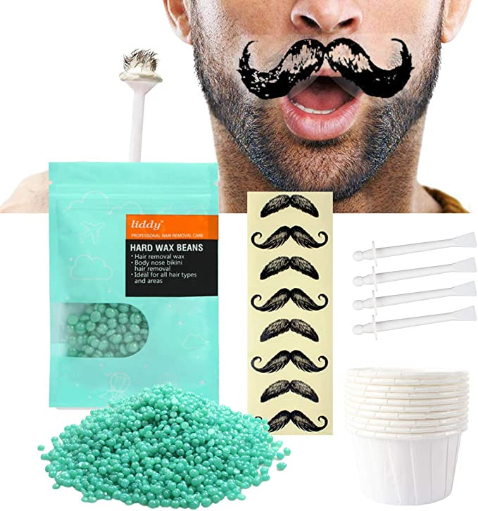 Nose Waxing Kit for Men and Women, Disposable Multi-Purpose Nose Hair Removal Wax with 20 Applicators, Quick and Painless: Amazon.co.uk: Health & Personal Care