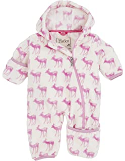 dd69b305c Amazon.com  Hatley Baby Girls Fuzzy Fleece Bundlers  Clothing