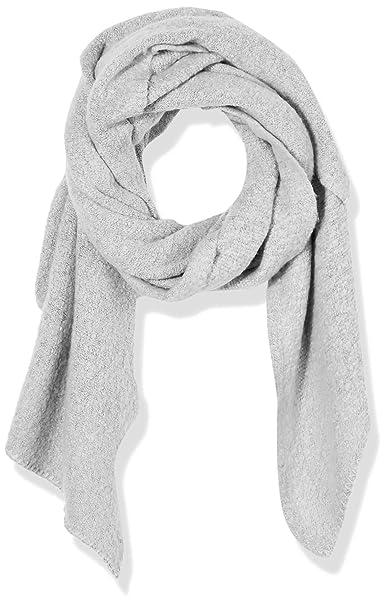 e748d8724 Amazon.com: Under Zero Women's Large Grey Knit Blanket Scarf: Clothing