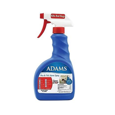 Adams pulgas y garrapatas para hogar en Spray, 24 oz