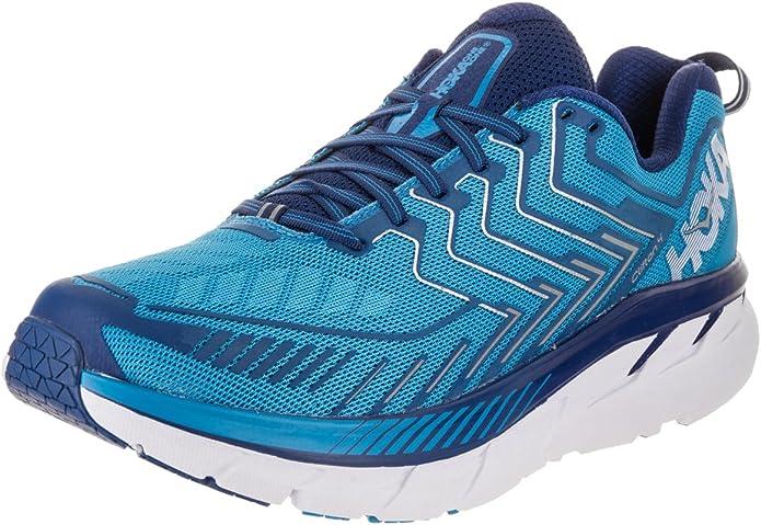 Hoka Clifton 4, Zapatillas de Running para Hombre, DivaBlue/TrueBlue, 46 2/3 EU: Amazon.es: Zapatos y complementos
