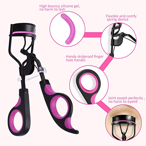 Eyelash Curlerkapmore Professional Lash Curler Plastic Handle Lash
