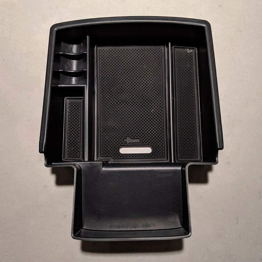 Hanbaili Bo/îte de Rangement de Plateau de Rangement dorganisateur de Console de Centre de Voiture adapt/é pour Audi Q5 2009-2016