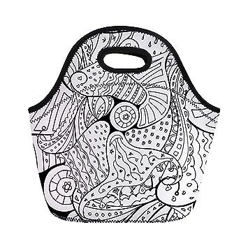 Boho Doodle libro para colorear para adultos y niños, bolsas ...