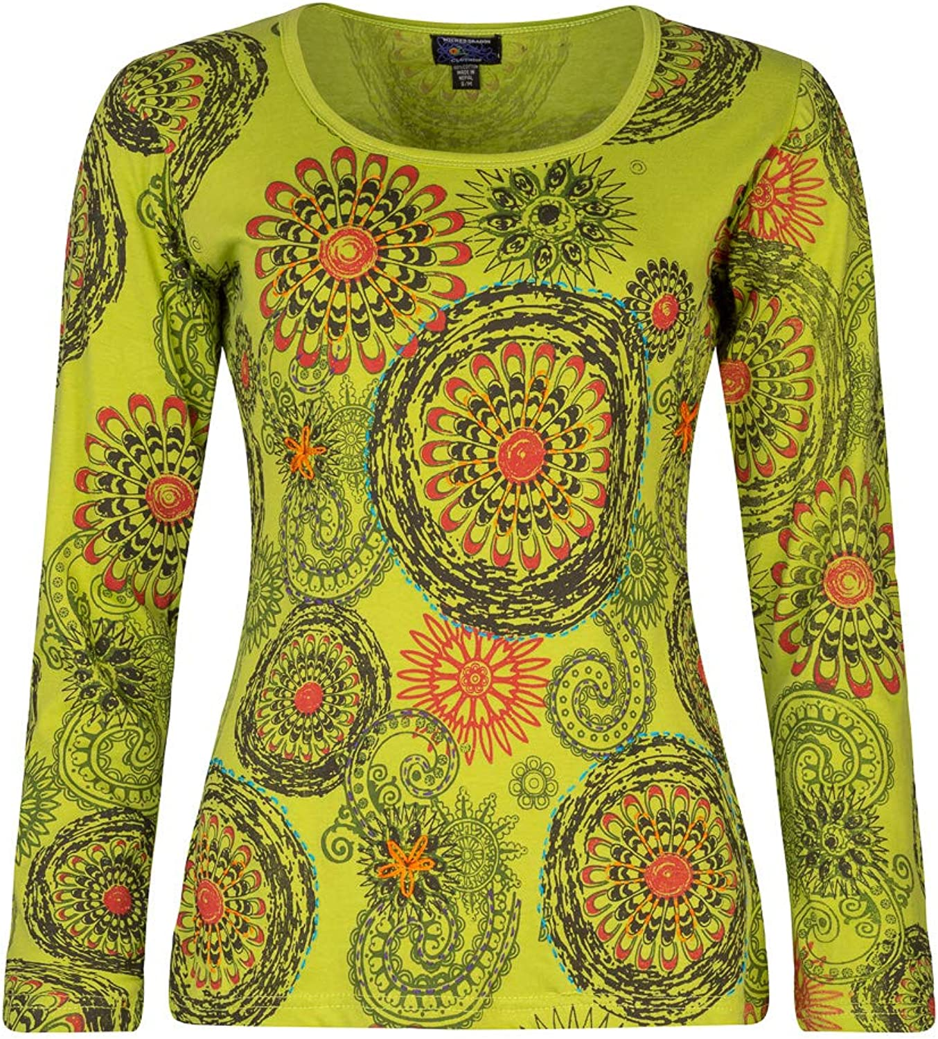 New Embroidered Sleeveless Funky Pixie Top up to Plus Size
