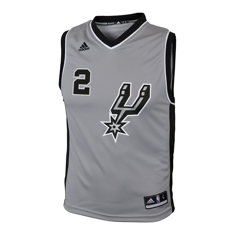 Kawhi Leonard San Antonio Spurs gris Youth Jersey - 28E8T T4, L , Ónix claro: Amazon.es: Deportes y aire libre