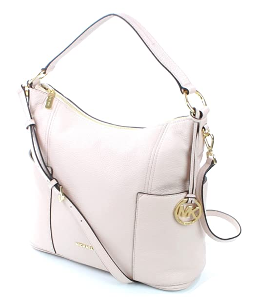 019e700ab28b Michael Kors Anita Shoulder Bag Medium Handbag Pebbled Leather (Ballet) Soft  Pink RRP £360  Amazon.co.uk  Shoes   Bags